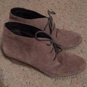 Franco Sarto wedge boots 9.5
